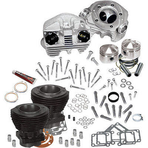 "Kit Alto Motor Para Harley-Davidson Shovelhead S&S 80"" Top End Kit"