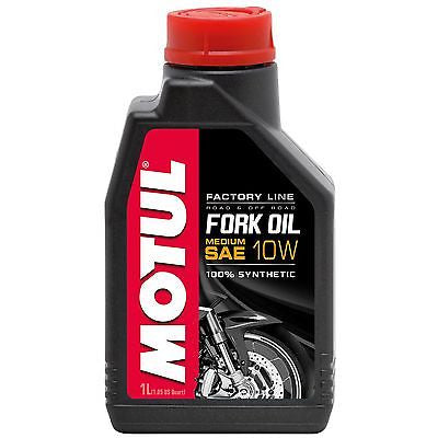 Aceite De Horquillas Sintetico Motul 10W Fork Oil Factory Line Medium Synthetic
