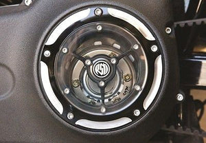 Tapa De Embrague Transparente Rsd Clarity Derby Cover Para Harley-Davidson®