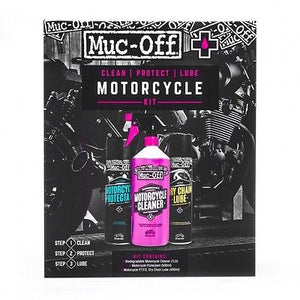 Kit Limpieza Proteccion Y Lubricacion Para Moto Muc-Off Motorcycle Care Kit