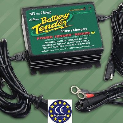 Cargador Baterias Profesional 24V Battery Tender Power Tender Plus 24V-2.5A