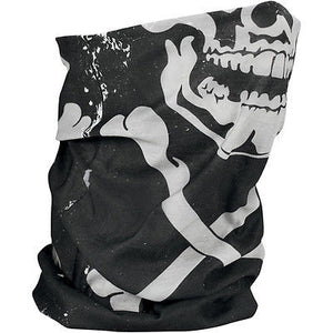 Braga Pañuelo Para Cuello Fleece-Lined Motley Tube Skull And Crossbones