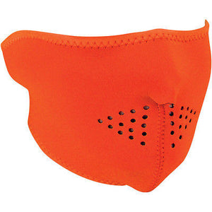 Mascara De Neopreno Neoprene Half Face Mask Hi Vis Orange