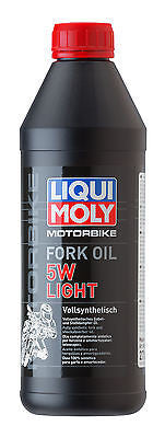 Aceite Horquillas Sintetico 5W Light Liqui-Moly Motorbike Synthetic Fork Oil