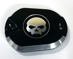 Tapa Bomba Freno Para HD® Sportster® Billet Master Cylinder Cover Front