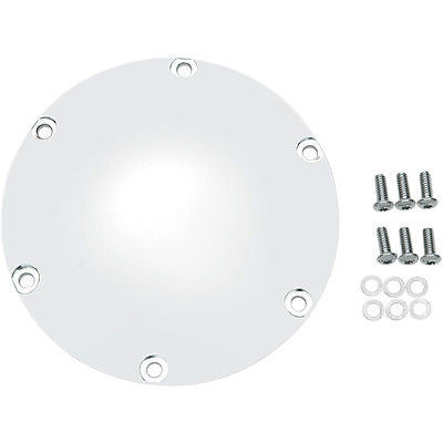 Tapa De Embrague Cromada Para Sportster '04-Up Chrome Clutch Derby Cover