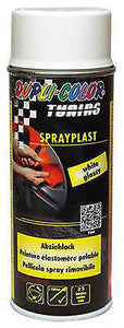 Spray Pintura Vinilo Liquido Blanco Brillo Dupli-Color Sprayplast Strip Paint