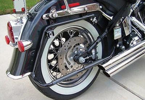 Soportes De Alforjas Rigidas Para Harley® Softail® Rigid Saddlebag Mount Kit