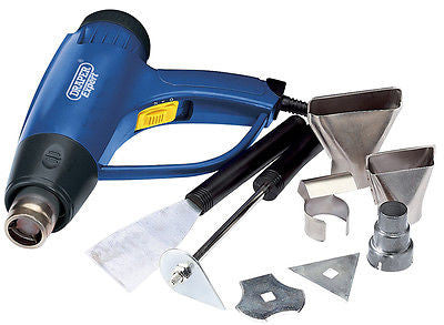 Pistola De Calor Regulable Profesional Expert Variable Heat Hot Air Gun Kit