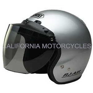 Pantalla Visera Abatible Para Casco Abierto Flip Three-Snap Smoke Visor
