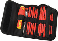 Set Destonillador Aislado Profesional Vde Interchangeable Blade Screwdriver Set