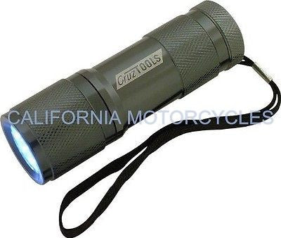 Linterna Taller Led Alto Rendimiento Superbright™ 9‑Led Flashlight By Cruz Tools