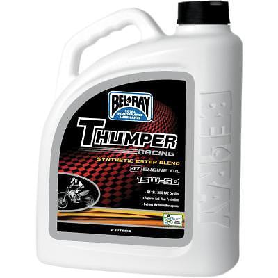 Aceite Competicion Bel-Ray Thumper Racing Synthetic Ester Blend 4T Engine Oil