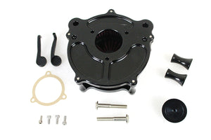 Contrast Cut Turbine Air Cleaner Kit For Harley-Davidson 2008-2017