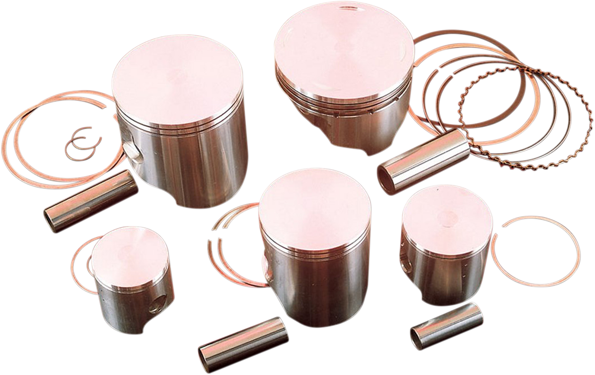 WISECO HIGH-PERFORMANCE 2- AND 4-CYCLE MOTORCYCLE PISTONS WISECO PISTON-HON .50MM