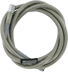 "RUSSELL UNIVERSAL BRAIDED STAINLESS STEEL BRAKE LINES SS DOT BRAKE LINE 66""W/CL"