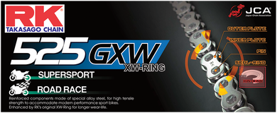 RK XW-RING (GXW) CHAIN RK 525GXW-120