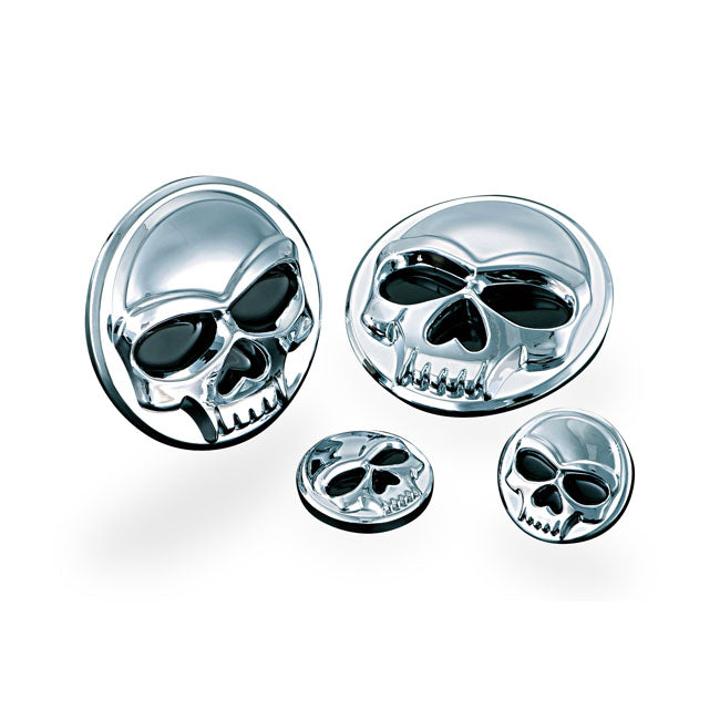 Kuryakyn, Replacement Zombie Medallion Set, Small For Harley-Davidson