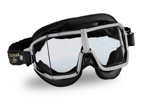 Gafas Clasicas Moto Tipo Aviador Climax Custom 521 Googles Made in Spain