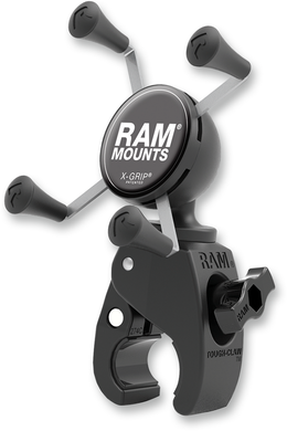RAM MOUNT RAM TOUGH-CLAW™​ MOUNTS WITH UNIVERSAL X-GRIP®​ PHONE CRADLE KIT XGRIP TCLAW .625-1.5