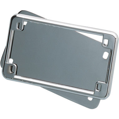 LICENSE PLATE HOLDER AND BACKING PLATE SET FOR HARLEY-DAVIDSON