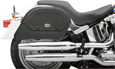 SADDLEMEN CRUIS'N™ SLANT SADDLEBAGS SBAG CUST FIT CRSN LG