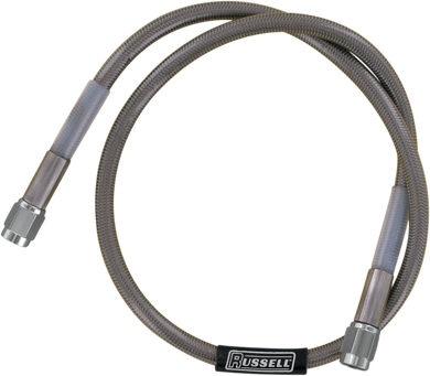 RUSSELL UNIVERSAL BRAIDED STAINLESS STEEL BRAKE LINES SS DOT BRAKE LINE 26