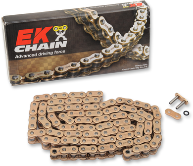 EK ZVX3 SEALED EXTREME SPORTBIKE SERIES CHAINS CHAIN 520ZVX3 X 120 GLD
