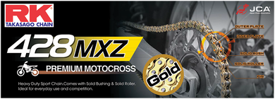 RK HEAVY-DUTY CHAINS (MXZ/MXZ4) RK GB428MXZ X 124 LINKS