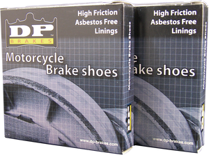 DP BRAKES BRAKE SHOES SHOE, MX YAM, F/R