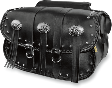 WILLIE & MAX LUGGAGE WARRIOR SADDLEBAGS SADDLEBAG WARRIOR