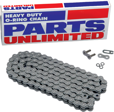 PARTS UNLIMITED-CHAIN MOTORCYCLE CHAIN CHAIN PU 520 O-RING X 88L
