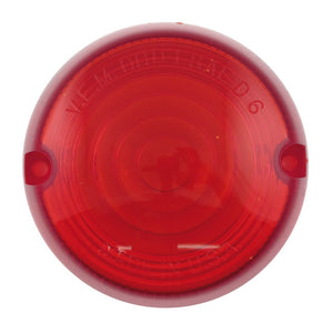 Chris Turn Signal Replacement Lens,Red For Harley-Davidson