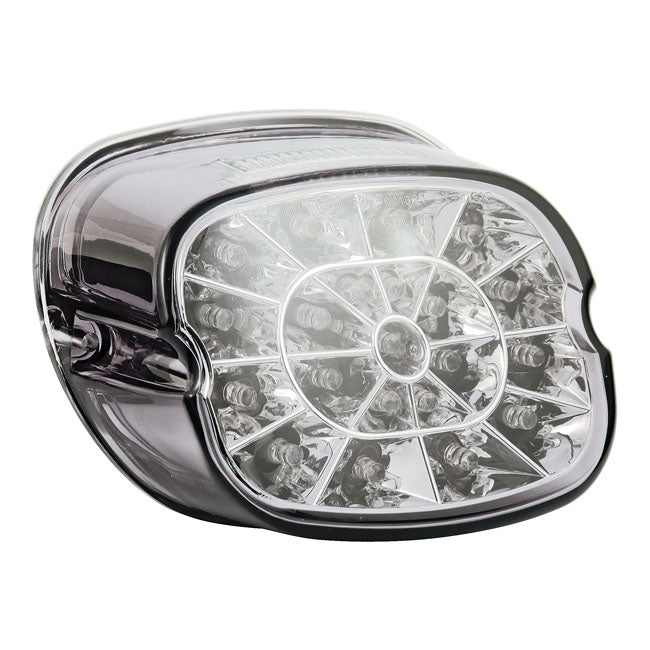 Led Laydown Spider Taillight,Light Smoke For Harley-Davidson