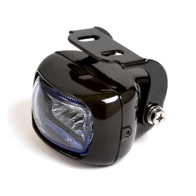 Utica, H3 Foglamp Blue Lens For Harley-Davidson