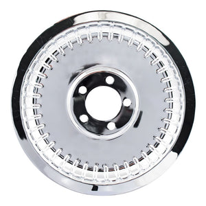 Pulley Cover, Smooth Ribbed (70T) For Harley-Davidson