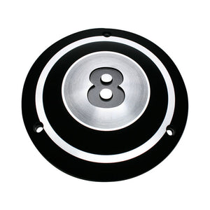 Hkc Derby Cover, 8 Ball For Harley-Davidson