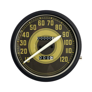 Speedometer Green Army Face For Harley-Davidson