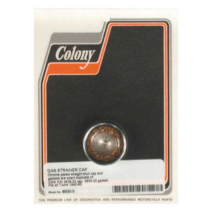 Colony Gas Strainer Cap For Harley-Davidson