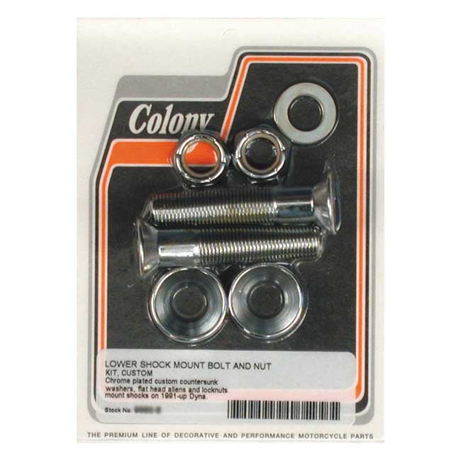 Colony Lower Shock Mount Kit For Harley-Davidson