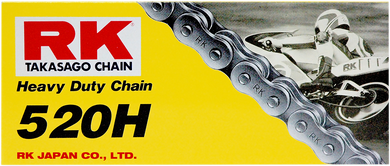 RK HEAVY-DUTY CHAIN (H) CHAIN RK 520H X 116 LINKS