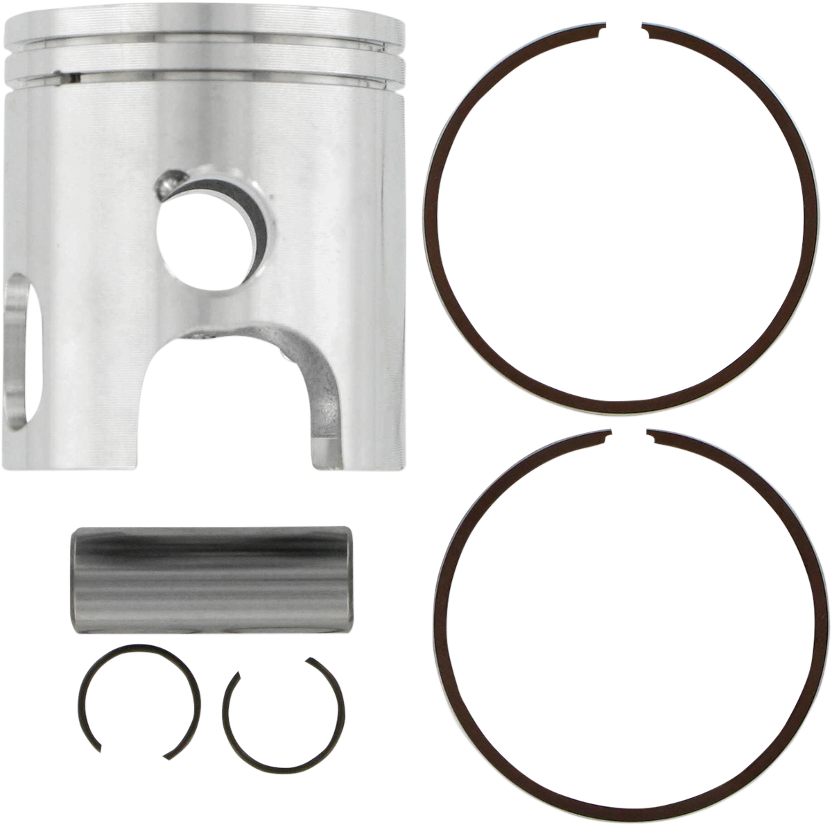 WISECO HIGH-PERFORMANCE 2- AND 4-CYCLE MOTORCYCLE PISTONS WISECO PISTON YAM STD.
