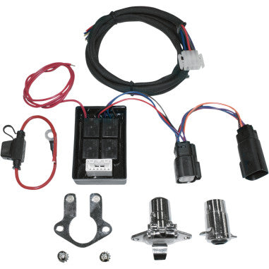 TRAILER WIRING CONNECTOR KITS WITH ISOLATOR FOR HARLEY-DAVIDSON