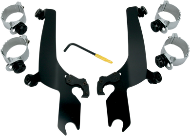 MEMPHIS SHADES HD NO-TOOL TRIGGER-LOCK MOUNT KITS FOR SPORTSHIELDS MNT KIT TL S/S HD BLK