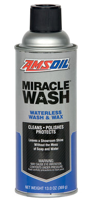 Limpiador Lavado Sin Agua Amsoil AMWSC Miracle Wash Waterless Wash & Wax 13 oz.