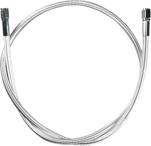 "MAGNUM BRAIDED DOT UNIVERSAL BRAKE LINES AND FITTINGS CHROMITE II 21""BRAKE LINE"