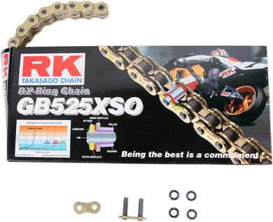 RK X-RING (XSO) CHAIN RK GB525XSO X 108