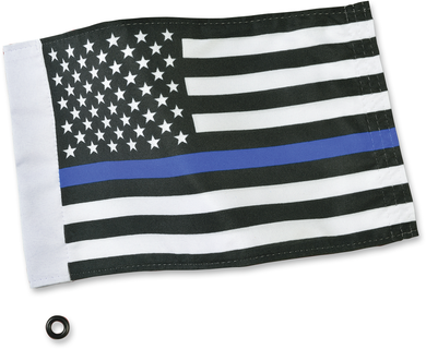 SHOW CHROME FLAGS FLAG THIN BLUE LINE