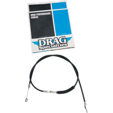 BRAIDED AND BLACK VINYL HIGH EFFICIENCY (H.E.) CLUTCH CABLES FOR HARLEY-DAVIDSON