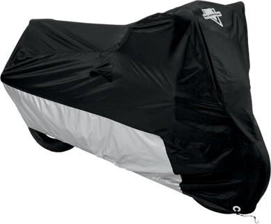 NELSON RIGG MC902/3/4/5 DELUXE ALL-SEASON COVERS DLX M/C CVR BK/SLVR-LG